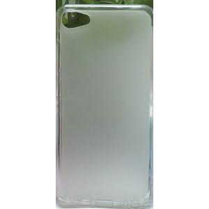 Силиконовый матовый полупрозрачный чехол для Meizu U10 Белый