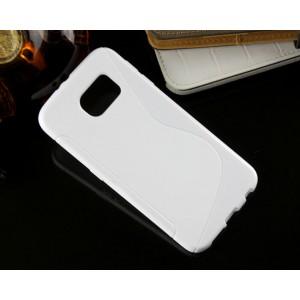 Силиконовый S чехол для Samsung Galaxy S6 Белый