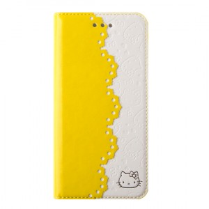 Чехол флип-подставка серия HelloKitty для Iphone 6 Желтый
