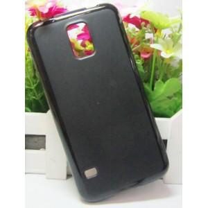 Силиконовый матовый чехол для Samsung Galaxy S5 Черный