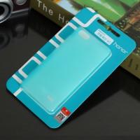 Пластиковый матовый полупрозрачный чехол для Huawei Honor 4C Голубой