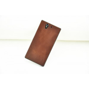 Клеевая кожаная пластина для Sony Xperia Z1 (c6903)