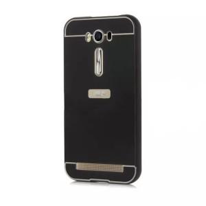 Двухкомпонентный чехол с металлическим бампером и поликарбонатной накладкой для ASUS Zenfone 2 Laser 5 ZE500KL