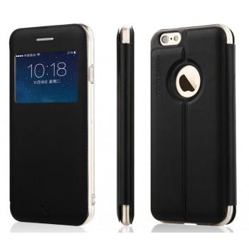 Чехол флип-подставка с окном вызова для Iphone 6