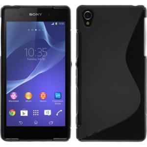 Силиконовый чехол S для Sony Xperia Z2 Черный