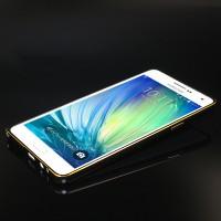 Металлический бампер для Samsung Galaxy A7 Черный
