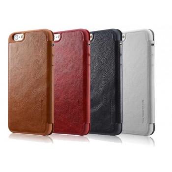 Кожаный дизайнерский чехол-флип с отделением для карт для Iphone 6