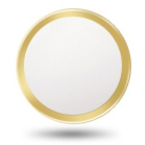 Защитная наклейка с металлическим кольцом для сенсора отпечатка пальцев для Iphone 6/6s/6 Plus/6s Plus/5s/SE Бежевый