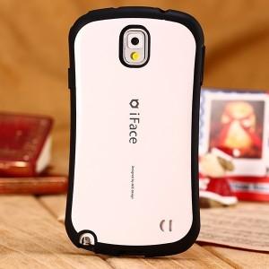 Силиконовый анатомический премиум чехол для Samsung Galaxy Note 3 Белый