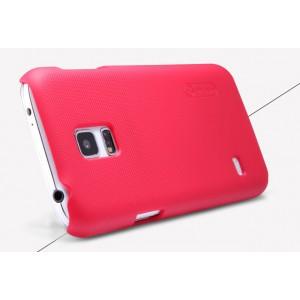 Пластиковый премиум матовый нескользящий чехол для Samsung Galaxy S5 Mini Пурпурный