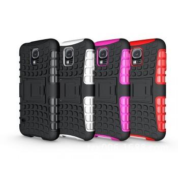 Силиконовый чехол экстрим защита для Samsung Galaxy S5 Mini