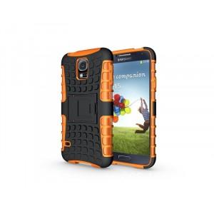 Силиконовый чехол экстрим защита для Samsung Galaxy S5 Mini Оранжевый