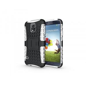Силиконовый чехол экстрим защита для Samsung Galaxy S5 Mini Белый
