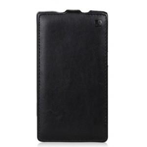 Кожаный чехол вертикальная книжка для Samsung Galaxy Core 2