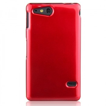 Чехол силиконовый для Sony Xperia go Красный