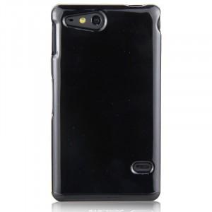 Чехол силиконовый для Sony Xperia go Черный