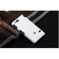 Чехол пластиковый для Sony Xperia go Белый
