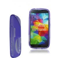 Силиконовый чехол S для Samsung Galaxy K Zoom Фиолетовый