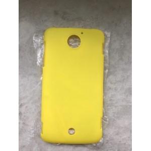 Пластиковый матовый чехол для Acer Liquid S2 Желтый