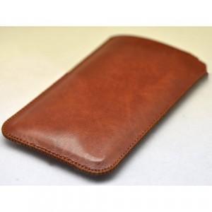 Кожаный мешок для Huawei P8 Lite Коричневый