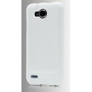 Силиконовый чехол для ZTE Grand Era V985 Белый