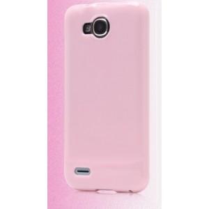 Силиконовый чехол для ZTE Grand Era V985 Розовый