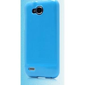 Силиконовый чехол для ZTE Grand Era V985 Голубой