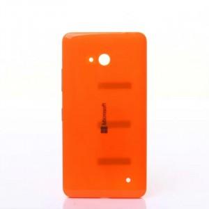 Оригинальная встраиваемая пластиковая сменная крышка для Microsoft Lumia 640 Оранжевый