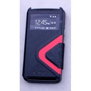 Текстурный чехол смарт флип с окном вызова и магнитной застежкой для Acer Liquid Z410