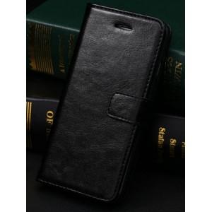 Чехол портмоне подставка с защелкой и отсеками для карт для Iphone 6 Plus