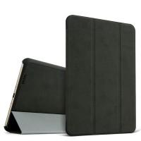 Винтажный чехол флип подставка сегментарный для Xiaomi MiPad Черный