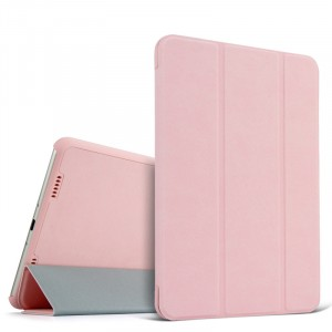 Винтажный чехол флип подставка сегментарный для Xiaomi MiPad Розовый