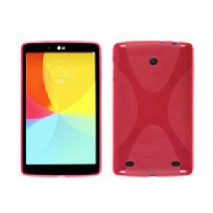 Силиконовый чехол X для LG G Pad 7.0 Красный