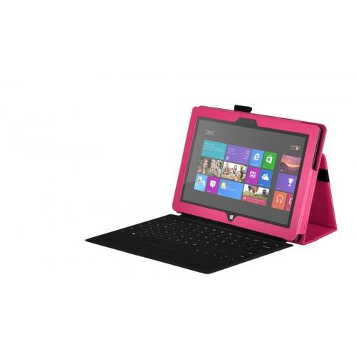 Чехол кожаный Full cover для Microsoft Surface Pro Белый