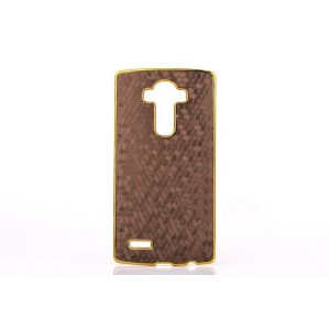 Дизайнерский поликарбонатный чехол текстура Соты для LG G4