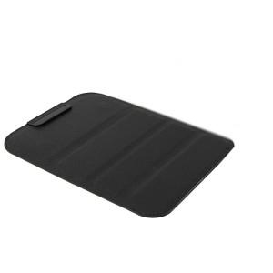 Кожаный сегментарный мешок (иск. Кожа) подставка для Samsung Galaxy Tab S2 9.7 Черный