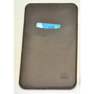 Кожаный мешок с отделением для карты для Huawei MediaPad X2 Коричневый