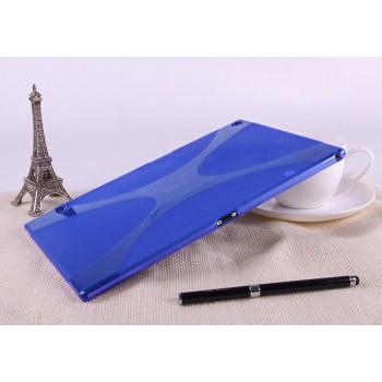 Силиконовая задняя панель для Sony Xperia Z2 Tablet Синий