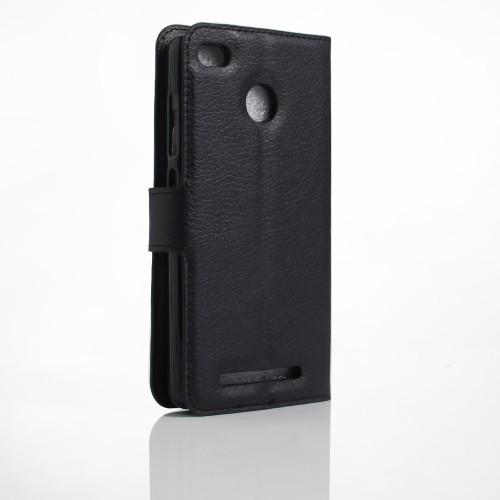 Чехол портмоне подставка на силиконовой основе на магнитной защелке для Xiaomi RedMi 3 Pro/3S Зеленый