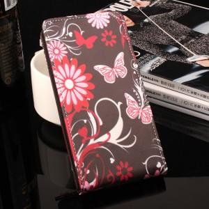 Чехол вертикальная книжка на силиконовой основе с полноповерхностным принтом на магнитной защелке для Samsung Galaxy A5 (2017)