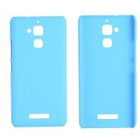 Пластиковый непрозрачный матовый чехол для Asus ZenFone 3 Max Голубой
