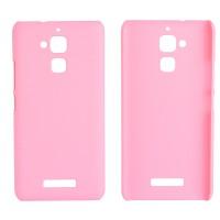 Пластиковый непрозрачный матовый чехол для Asus ZenFone 3 Max Розовый