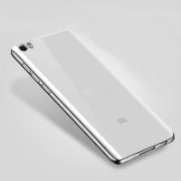 Силиконовый матовый полупрозрачный чехол с текстурным покрытием Металлик для Xiaomi Mi Note Белый