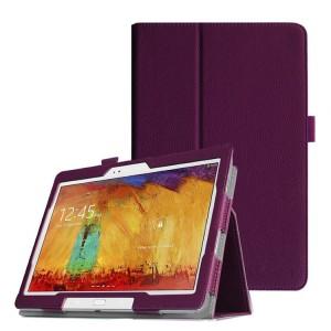 Чехол подставка серия Full Cover для Samsung Galaxy Note 10.1 2014 Edition Фиолетовый