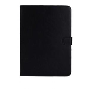 Кожаный чехол подставка с застежкой для Samsung Galaxy Tab 4 10.1 Черный
