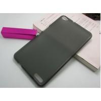 Силиконовый полупрозрачный чехол для Huawei MediaPad X1 Черный