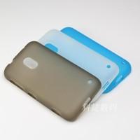Силиконовый матовый полупрозрачный чехол для Nokia Lumia 620