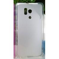 Силиконовый матовый полупрозрачный чехол для Huawei Honor 3 Белый