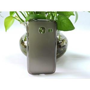 Силиконовый матовый полупрозрачный чехол для Samsung Galaxy J1 mini (2016)