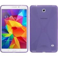 Силиконовый чехол X для Samsung Galaxy Tab 4 8.0 Фиолетовый